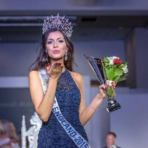 Miss England 2015 Winner Miss Cheshire