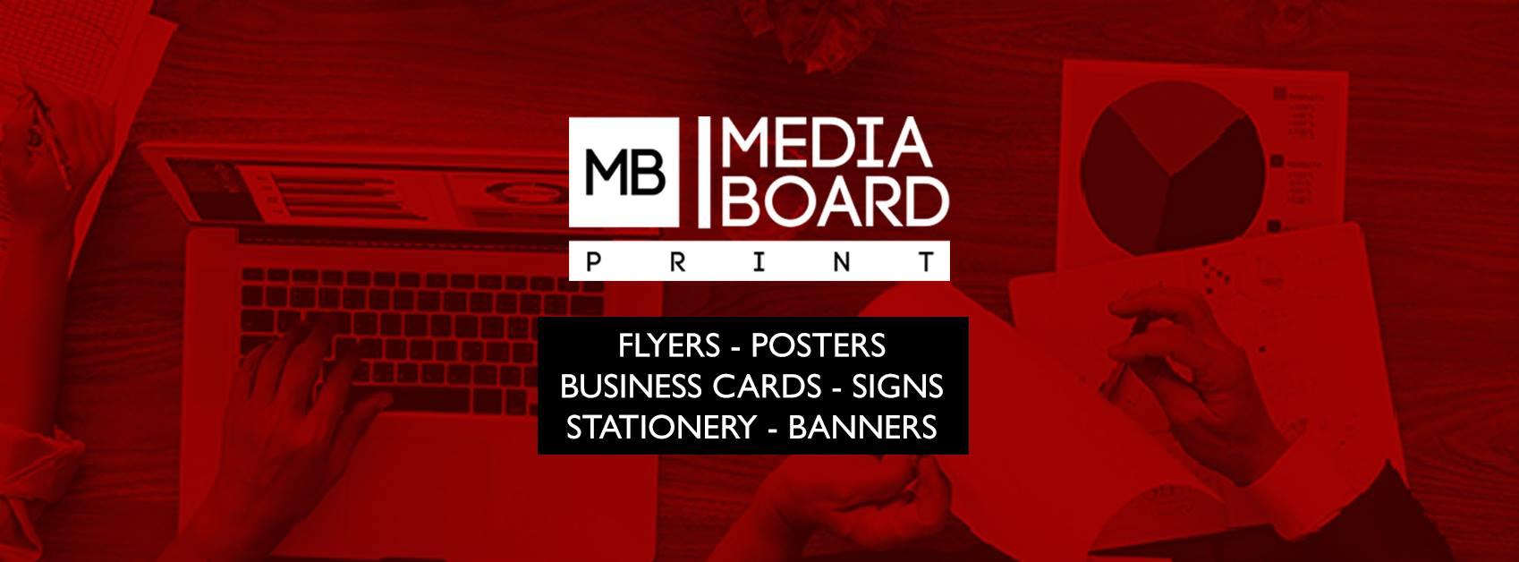 Media Board logo cover