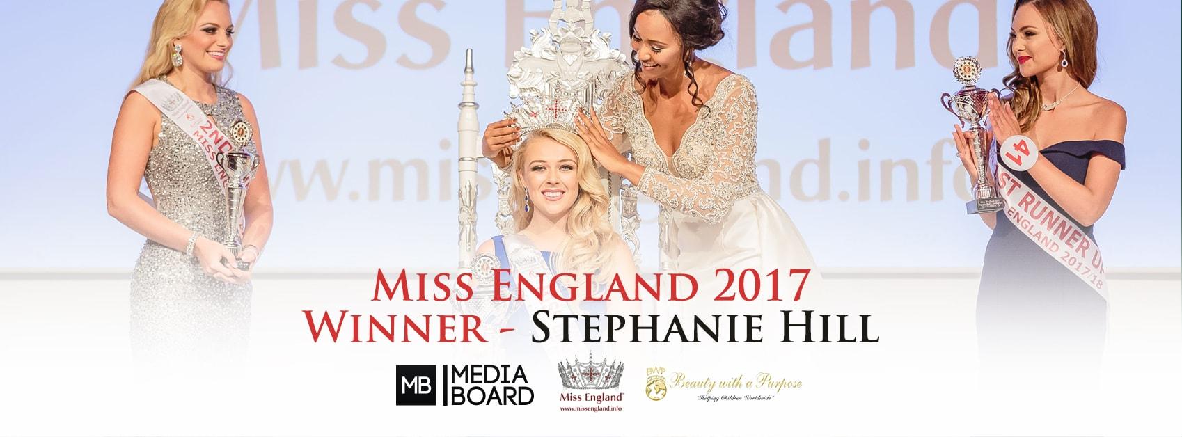 She's beauty, she's grace, she's Miss….England!