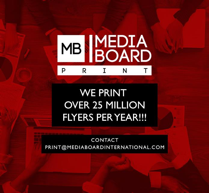 We Print Over 25 Million Flyers Every Year!